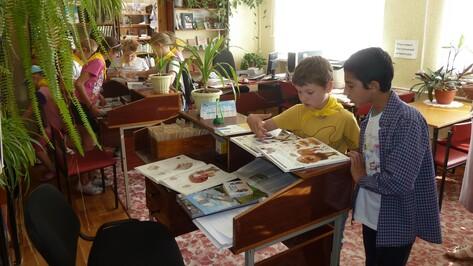 В хохольских сельских библиотеках установили компьютеры