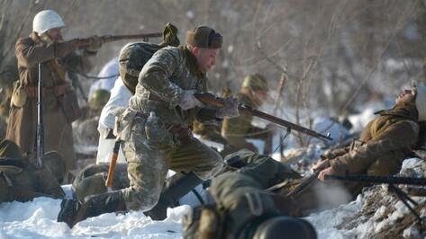 В сценарий реконструкции боя за Воронеж впервые включили мирное население