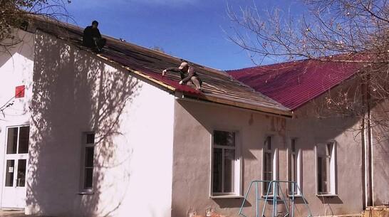 В петропаловском селе Краснофлотское впервые за 24 года отремонтировали крышу ДК