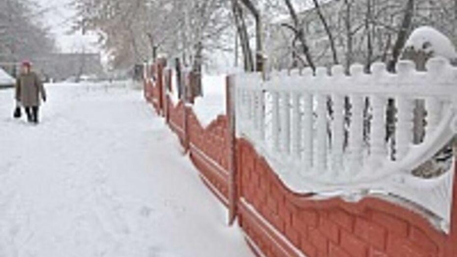 В Поворинском районе из-за террористов школу заставили построить забор