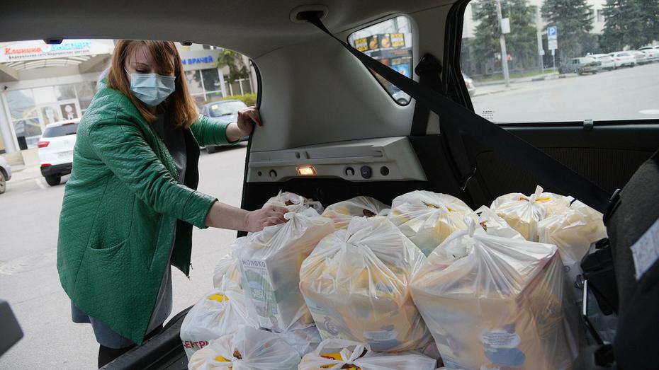 Инвалидам первой группы привезут продукты в Воронежской области
