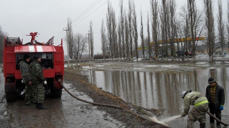 В Рамонском районе два населенных пункта оказались в зоне подтопления