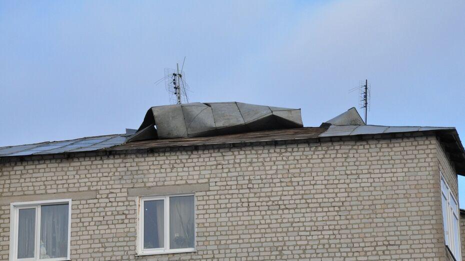 Шквальный ветер прибавил работы эртильским энергетикам