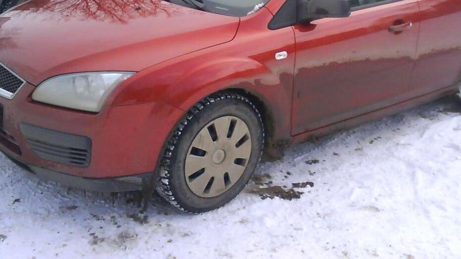 Полиция устроила погоню за Ford на трассе под Воронежем