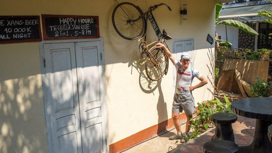 Воронежские велосипедисты вернулись домой из путешествия по Юго-Восточной Азии
