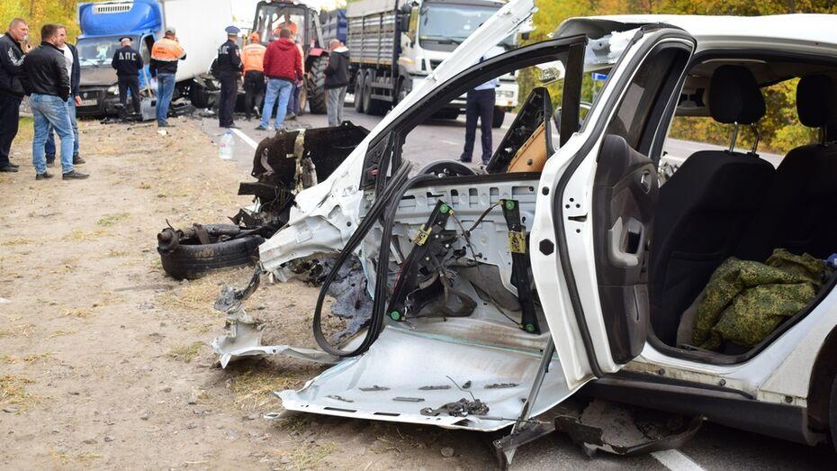Две «Газели» и Ford столкнулись в Воронежской области: погиб один из водителей