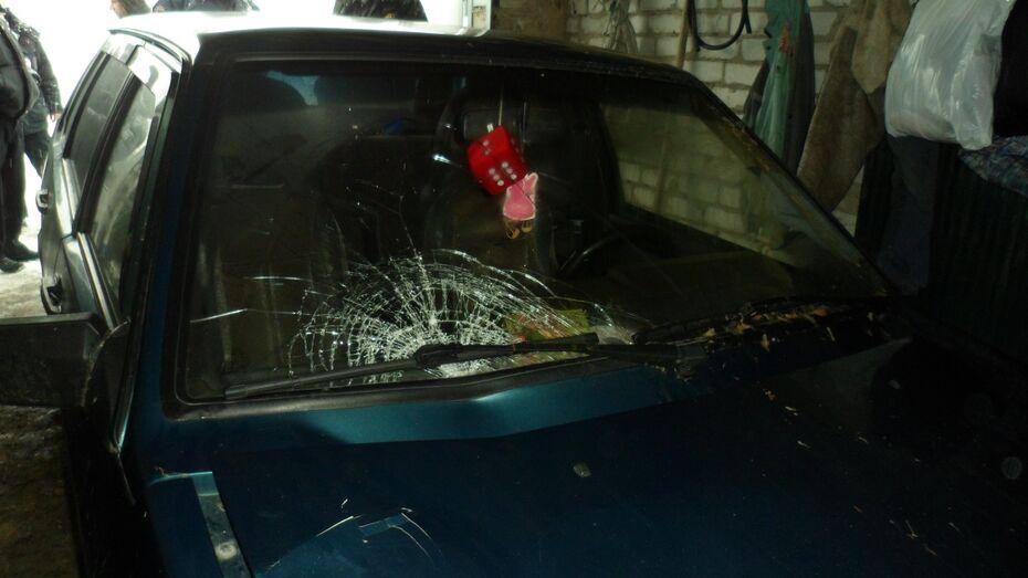 Воронежская полиция поймала уехавшего со смертельного ДТП водителя