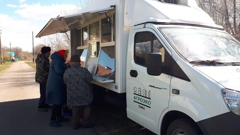 Автолавка «Агроэко» начала работать еще для 3 населенных пунктов Верхнемамонского района