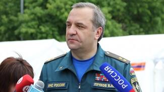 Министр МЧС России прибыл в Воронежскую область для обсуждения паводковой ситуации