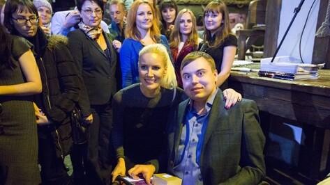 Воронежец предложил Елене Летучей проверить безбарьерную среду в ресторанах