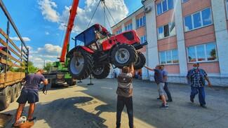 Острогожский многопрофильный техникум закупил 6 тракторов «Беларус»