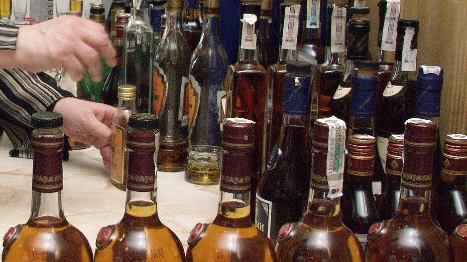 Воронежские полицейские изъяли контрафактный алкоголь на 3,5 млн рублей