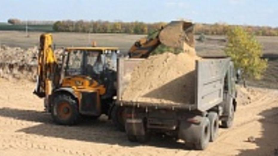 В поселке Хохольский началось строительство очистных сооружений
