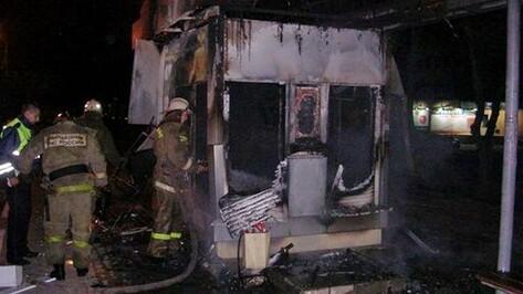 В Воронеже неизвестные ночью сожгли пять табачных киосков