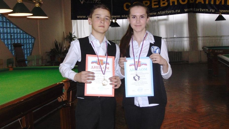 Бутурлиновские бильярдисты завоевали 2 медали на первенстве области