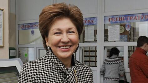 Воронежский вице-спикер СовФеда укрепилась в медиарейтинге сенаторов