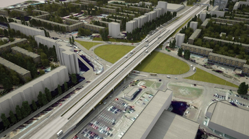 Остужевскую развязку в Воронеже предложили сделать в виде клеверного листа