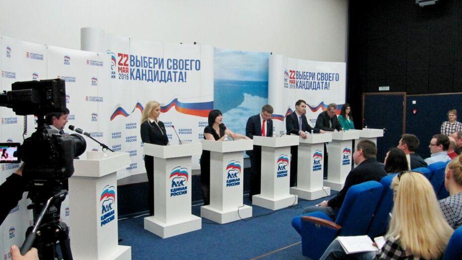 На дебаты воронежских единороссов в Панино приехали жители 4 районов