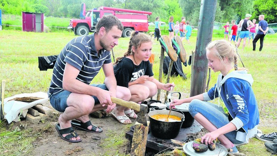 На турслете под Россошью запретили готовить пищу на костре