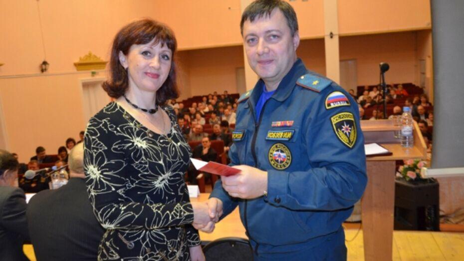 Павловские педагоги получили Знаки Министерства чрезвычайных ситуаций России