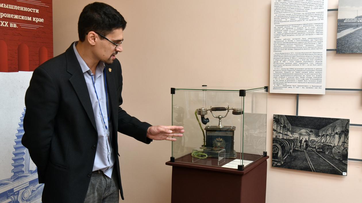 Телефон ХIХ века и машина Николая II. Что покажет новая выставка в воронежском музее