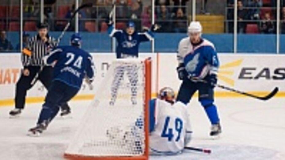 Воронежский «Буран» в первом раунде плей-офф сыграет с ТХК