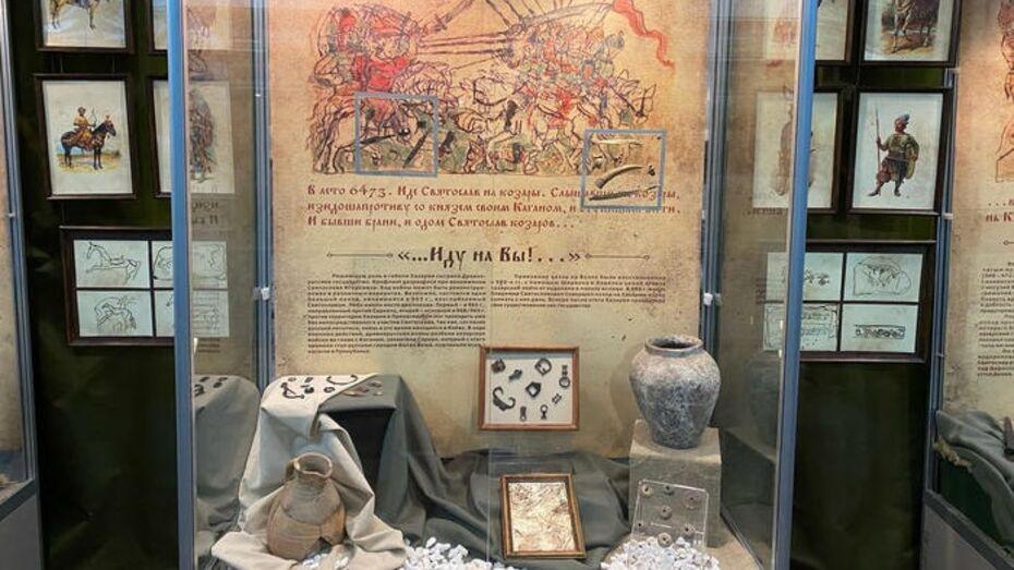 Выставка «Иду на вы!» открылась в Воронежском краеведческом музее