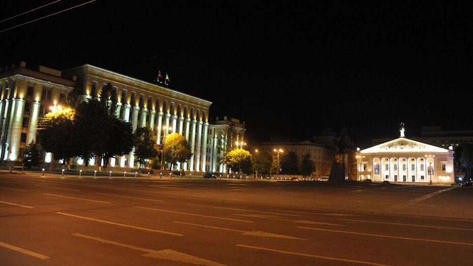 В честь окончания Второй мировой войны в Воронеже покажут 3-часовое световое шоу