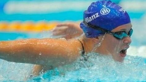 Воронежская пловчиха Нина Рябова завоевала семь первых мест на чемпионате России по плаванию