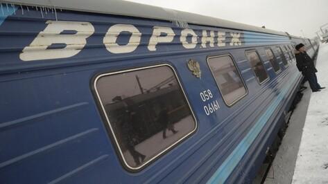 На железной дороге в Воронежской области усилили меры безопасности
