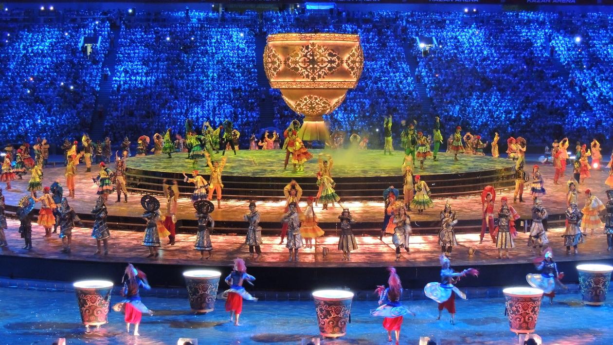 Церемония открытия Универсиады в Казани стала самой грандиозной за всю историю игр