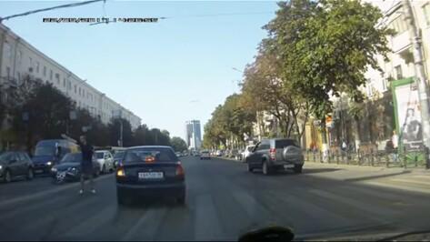 Hyundai сбил велосипедиста на «зебре» в Воронеже