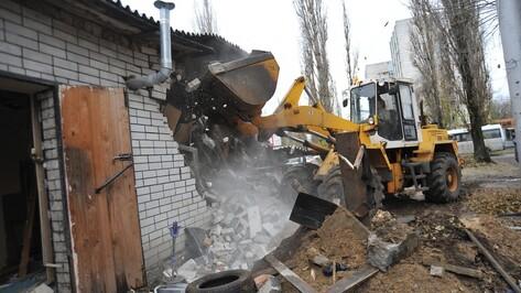 В Воронеже снесут 4 киоска быстрого питания в декабре