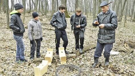 Школьное лесничество Бутурлиновского района вошло в пятерку лучших в области