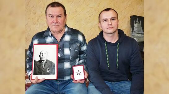 Таловский краевед отреставрировал найденный орден Красной Звезды и передал родным фронтовика