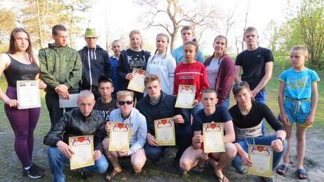 Таловчане победили на областных соревнованиях по спортивному туризму