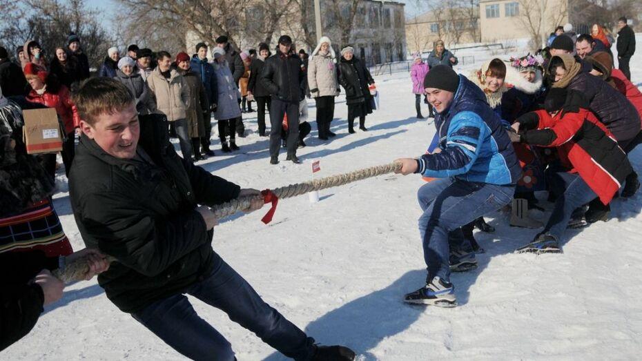Воронежцы отметят Всероссийский день зимних видов спорта перетягиванием каната