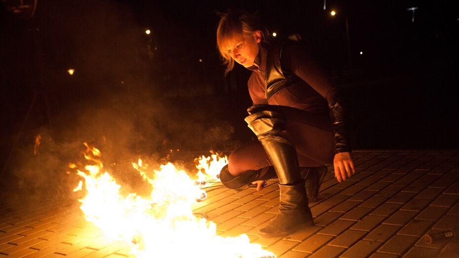 Фаерщики научат воронежцев глотать огонь