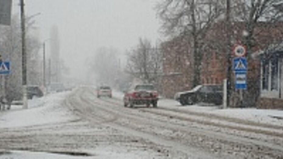В Кантемировский район вернулась зима