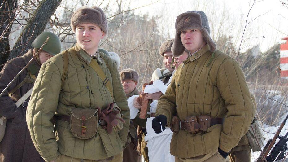 Репьевский студент принял участие в реконструкции битвы за Воронеж
