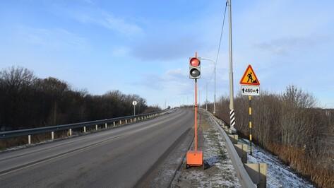 В Грибановском районе ограничили движение транспорта из-за ремонта путепровода