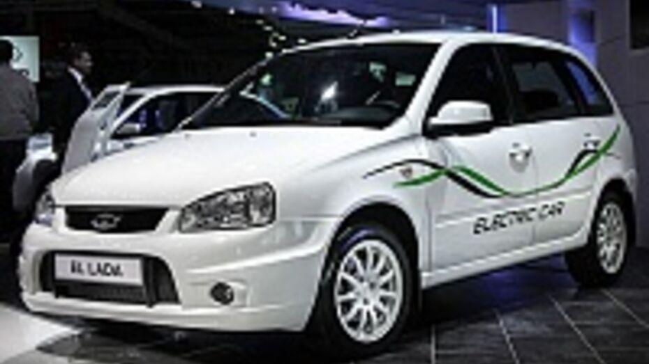 Первые электромобили El Lada скоро появятся в Воронеже