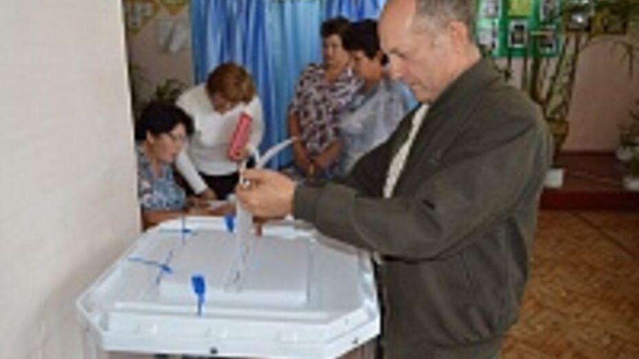 В Подгоренском районе Алексей Гордеев на выборах губернатора набрал почти 95% голосов