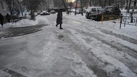 В начале весны от гололеда пострадали больше 1,2 тыс жителей Воронежской области