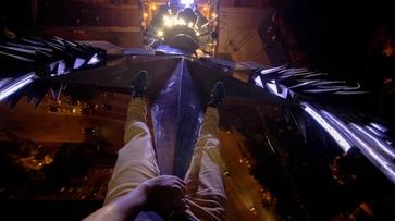 Воронежский руфер о 1,5-часовом снятии пиратского флага: «Подъем занимает 5 минут»