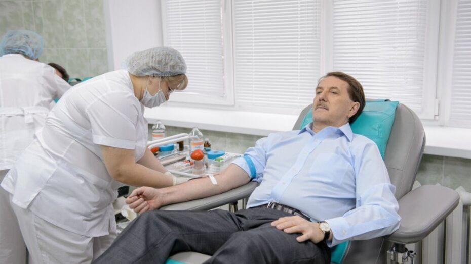 Отделение переливания крови Воронежской облбольницы открылось после реконструкции