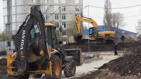 Проезд у офисного комплекса в Воронеже закроют на 2 месяца