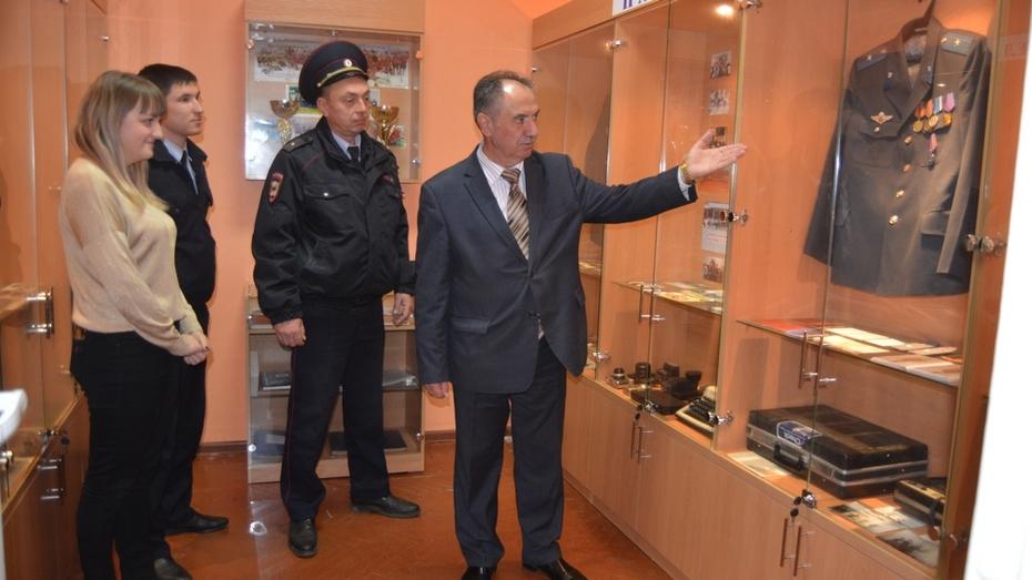 В россошанском отделе полиции открыли музей