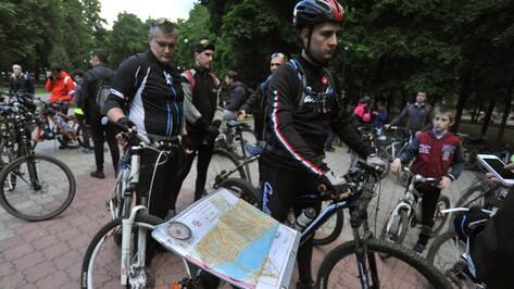 В велоквесте по историческим местам Воронежа прокатились 49 команд