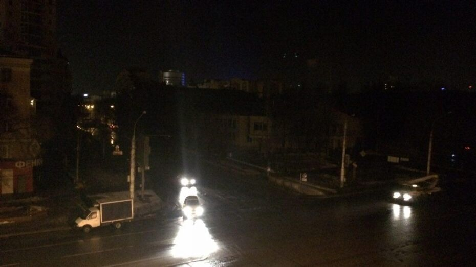 В центре Воронежа аварийно отключили электроснабжение